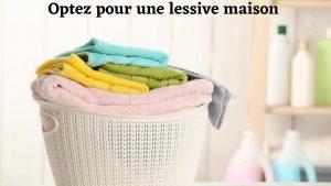 lessive fait maison